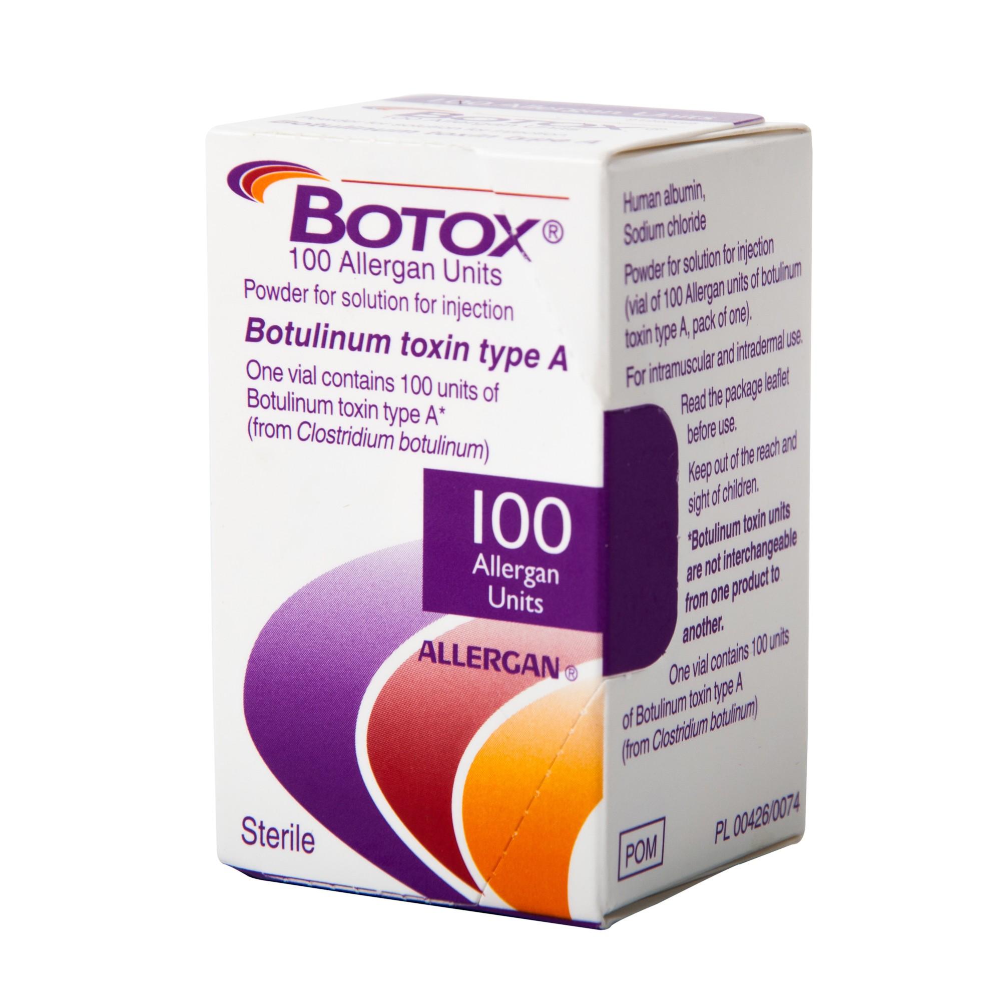 foto de Botox 100iu (English) – First Choice Medical